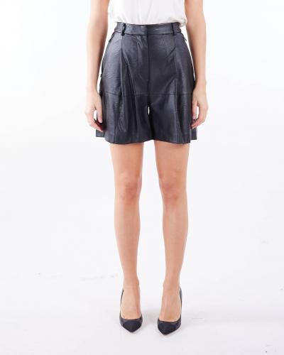 MANILA GRACE Shorts in ecopelle Manila Grace  Shorts   P017EUMA001