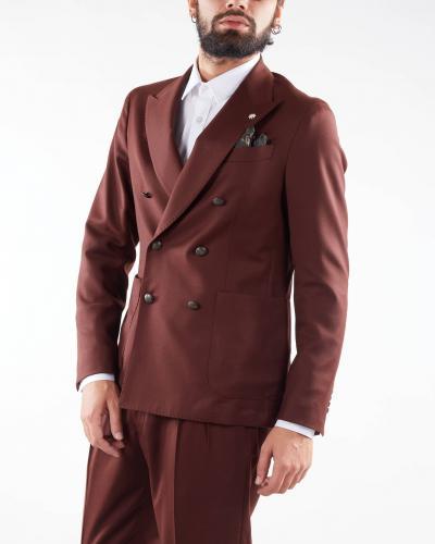 MANUEL RITZ Giacca in lana doppiopetto Manuel Ritz  Giacche   3132G2738Y21050129