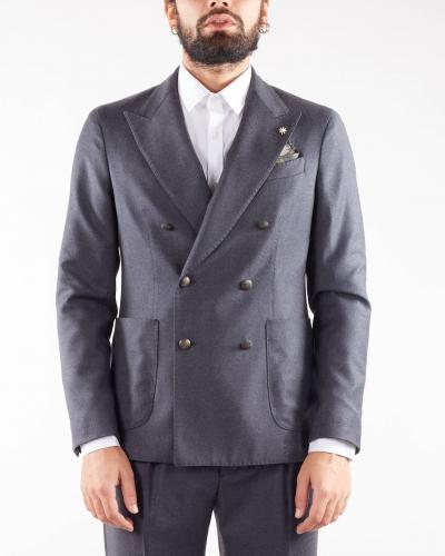 MANUEL RITZ Giacca in lana doppiopetto Manuel Ritz  Giacche   3132G2738Y21050197