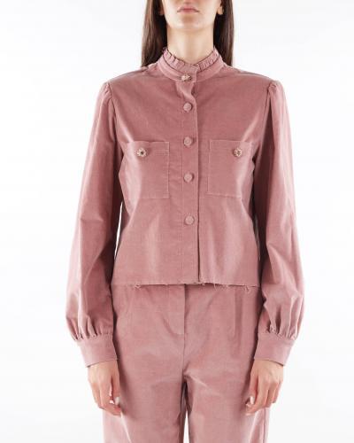 MATILDE COUTURE Camicia a costine in velluto Matilde Couture  Camicie | GEORGIACIPRIA