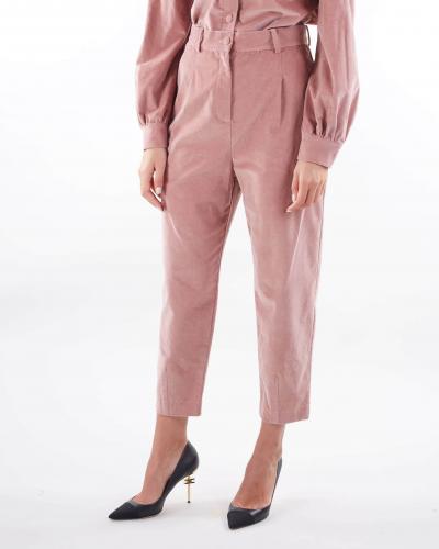 MATILDE COUTURE Pantalone a costine in velluto Matilde Couture  Pantaloni | PORTLANDCIPRIA
