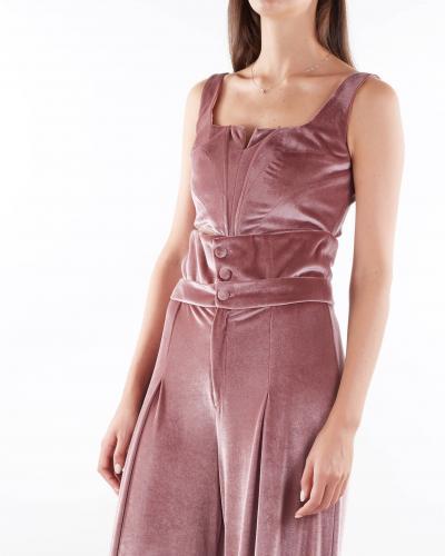 MATILDE COUTURE Top bustier in velluto Matilde Couture  Top | TEACIPRIA
