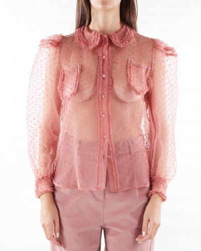 MATILDE COUTURE Camicia in tulle trasparente Matilde Couture  Camicie | TOFUCIPRIA