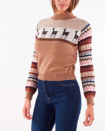 MAX MARA WEEKEND Maglia in filato di lana e alpaca Max Mara Weekend  T-shirt | HOT6