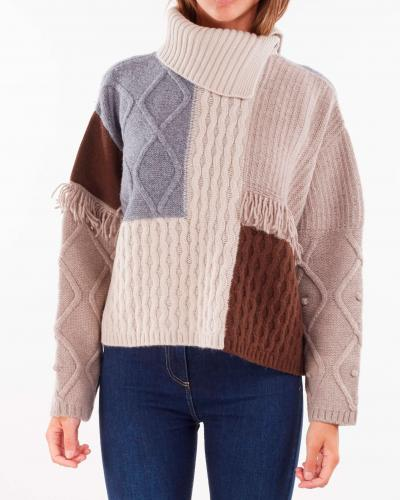 MAX MARA WEEKEND Maglia in filato di lana Max Mara Weekend  T-shirt | VISINO1