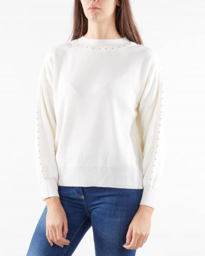 NENETTE Maglia con borchiette Nenette  T-shirt | MARGE6