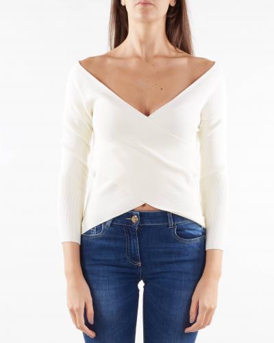 NENETTE Maglia con scollo incrociato Nenette  T-shirt | MATWIN3