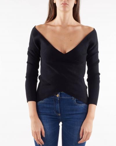 NENETTE Maglia con scollo incrociato Nenette  T-shirt | MATWIN700
