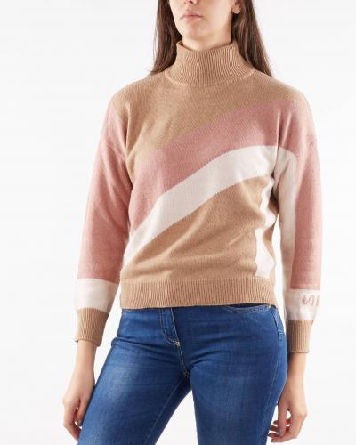 NENETTE Maglia con maxi N Nenette  T-shirt | MOCK645