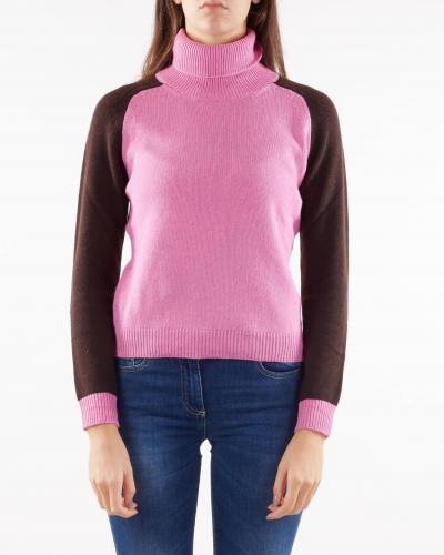 NENETTE Maglia a collo alto in misto cashmere Nenette  T-shirt | MOLLY2160