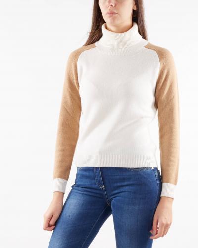 NENETTE Maglia a collo alto in misto cashmere Nenette  T-shirt | MOLLY2161