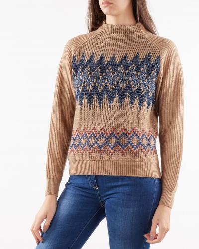 NENETTE Maglia jacquard Nenette  T-shirt | MUSCHIO645