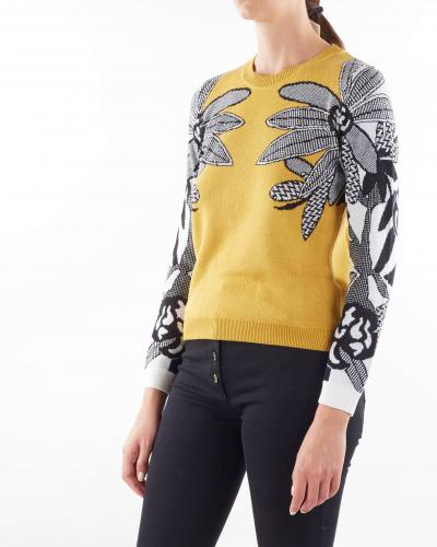 PENNY BLACK Maglia jacquard floreale Penny Black  T-shirt | ANNUALE1