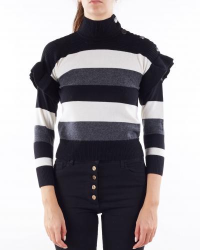 PENNY BLACK Maglia con rouches e bottoni Penny Black  T-shirt | MARIANNA13
