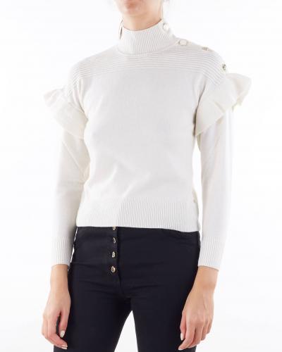 PENNY BLACK Maglia con rouches e bottoni Penny Black  T-shirt | MARIANNA1