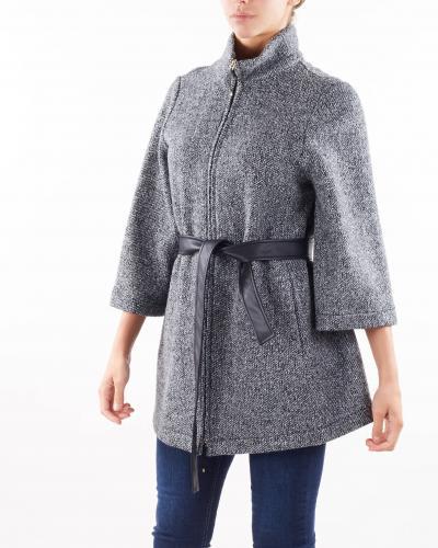 PENNY BLACK Cappa in warm jersey Penny Black  Cappotti | RIVA1