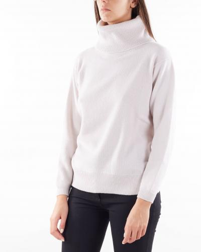 ROSSOPURO Maglia a collo alto in misto cashmere Rossopuro  T-shirt | RI6974G275