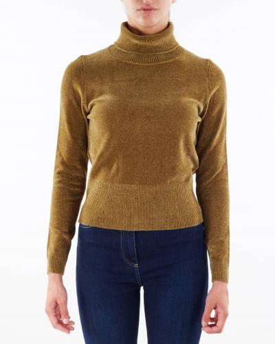 RRD Maglia in ciniglia con collo alto RRD  T-shirt   W2160423