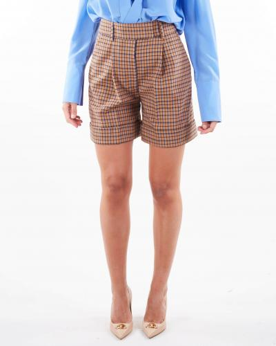 SIMONA CORSELLINI Shorts fantasia check Simona Corsellini  Shorts   SHR0101C0030009517
