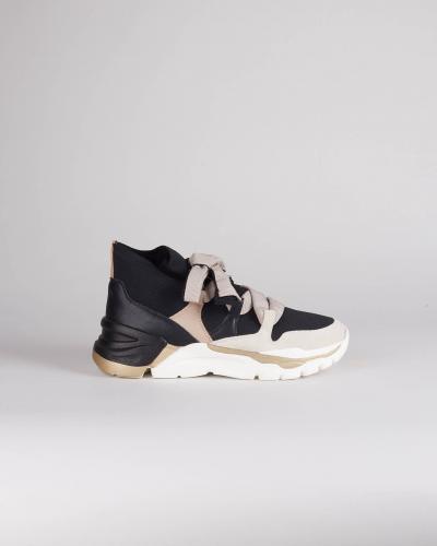 TWIN SET Sneakers in pelle con nastro Twinset  Sneakers | TCT1426534