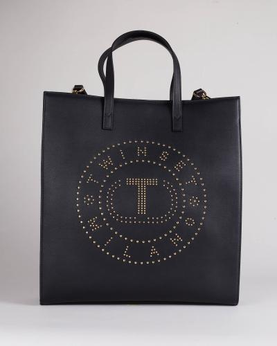 TWIN SET Borsa shopper con borchie Twinset  Borse | TD81116