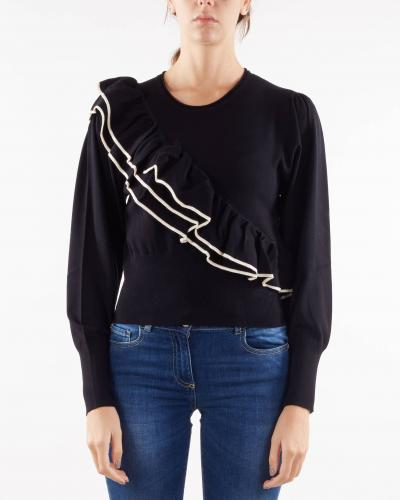 TWIN SET Maglia con balze Twinset  T-shirt | TP30203710