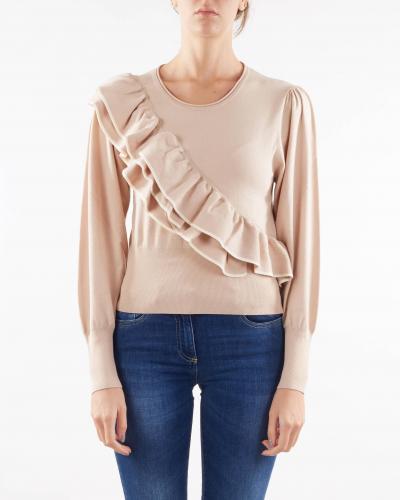 TWIN SET Maglia con balze Twinset  T-shirt | TP30206353