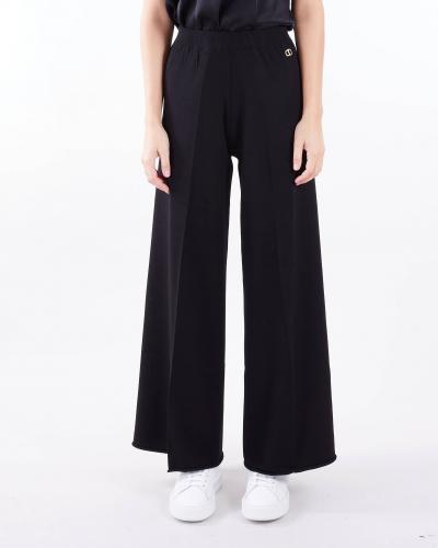 TWIN SET Pantalone in maglia a zampa Twinset  Pantaloni | TP31146
