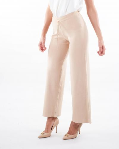 VICOLO Pantalone ampio con elastico in vita Vicolo  Pantaloni   2078XBEIGE