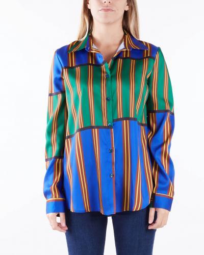 VICOLO Camicia a fantasia Vicolo  Camicie   TX0297BLU