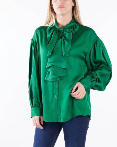 VICOLO Camicia con rouches Vicolo  Camicie   TX1157VERDE