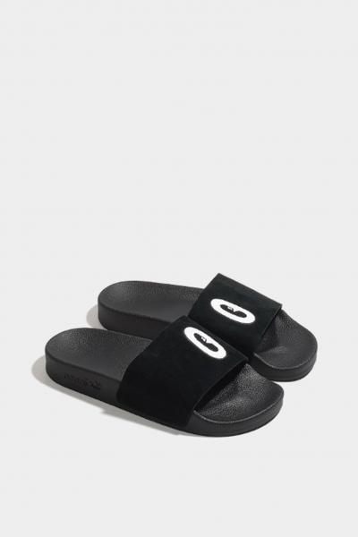 ADIDAS Ciabatte donna nero Adidas  Ciabatte | DA9017BLACK