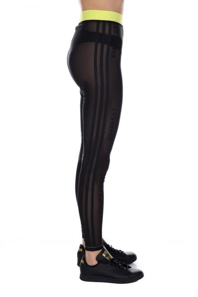 ADIDAS Leggings con trasparenze Adidas  Leggings | FL4155BLACK