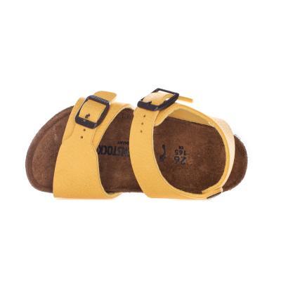BIRKENSTOCK Sandali bambino unisex giallo birkenstock con cinturino regolabile  Sandali | 1015758DESERT