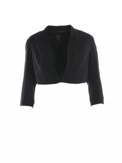 HANITA giacchino in cady  Giacche | HJ788U2665NERO
