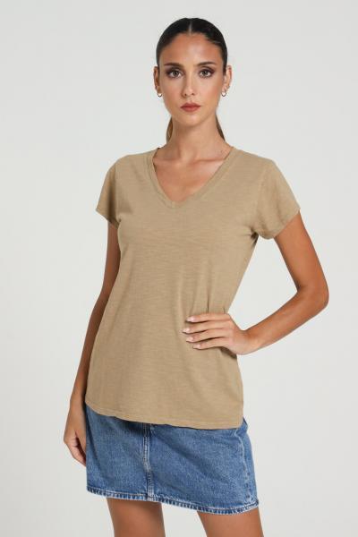 KONTATTO T-shirt Basic tinta unita Kontatto  T-shirt | M8055CORDA