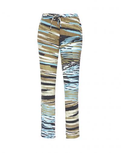 MANILA GRACE pantalone stampato  Pantaloni   P173VSMD822