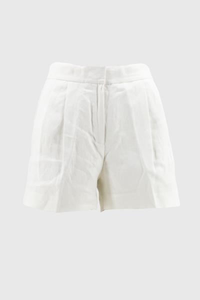 MICHAEL KORS linen pleated short  Shorts | MS03HC8A19100