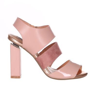 OSEY Sandalo Con Tacco Quadrato Tinta Unita  scarpe | SA0713UNI