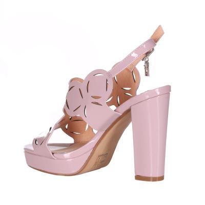 OSEY Sandalo Con Tacco Doppio E Cinturino  scarpe | SA0723NUDO