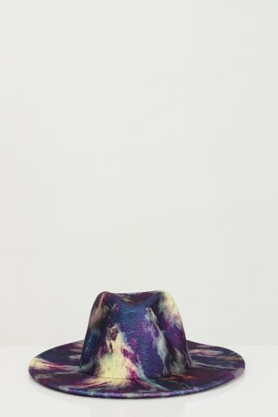 ADDICTED Cappello donna multicolor viola Addicted modello bucket  Cappelli | BORSELLINO-HATMULTICOLORVIOLA