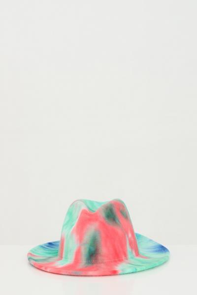 ADDICTED Cappello donna verde-rosso Addicted modello bucket  Cappelli | BORSELLINO-HATVERDE-ROSSO