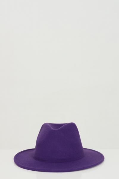 ADDICTED Cappello donna viola Addicted modello bucket in tinta unita  Cappelli | BORSELLINO-HATVIOLA