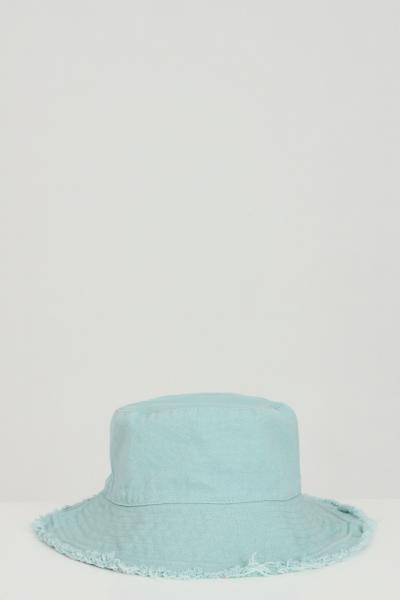 ADDICTED Cappello unisex verde Addicted sfrangiato modello bucket  Cappelli | BUCKET-HATVERDE