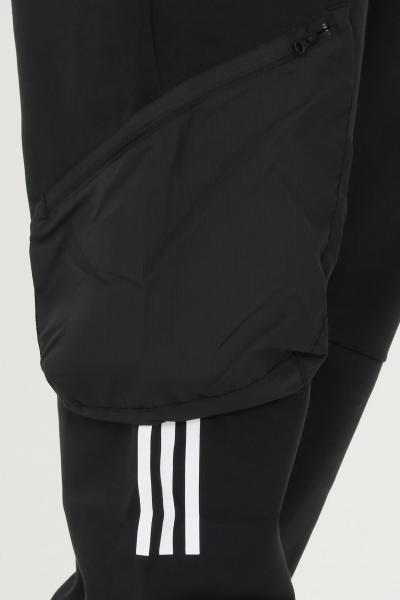 ADIDAS Pantaloni uomo nero adidas sport con vita elastica  Pantaloni   GM5786.