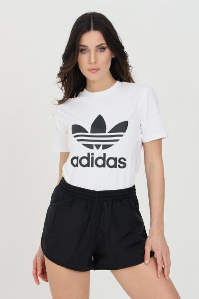 Shorts adicolor classic 3-stripes donna nero   Shorts   GN2885.