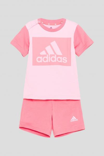 ADIDAS Completino essentials tee neonato rosa adidas  Completini   GN3927.