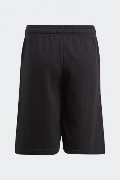 ADIDAS Shorts bambino unisex nero adidas con stampa logo a contrasto  Shorts   GN4018.
