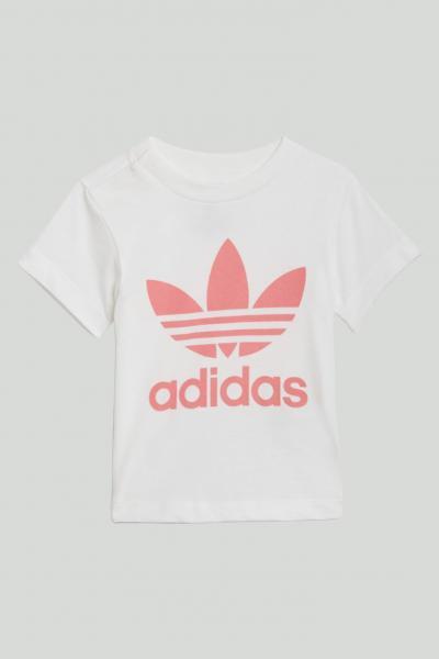 ADIDAS T-shirt trefoil neonato bianco adidas a manica corta  T-shirt   GN8175.