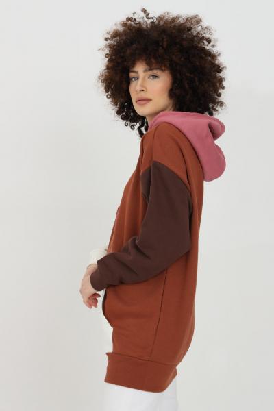 ADIDAS Felpa donna marrone adidas con cappuccio  Felpe | H33366.